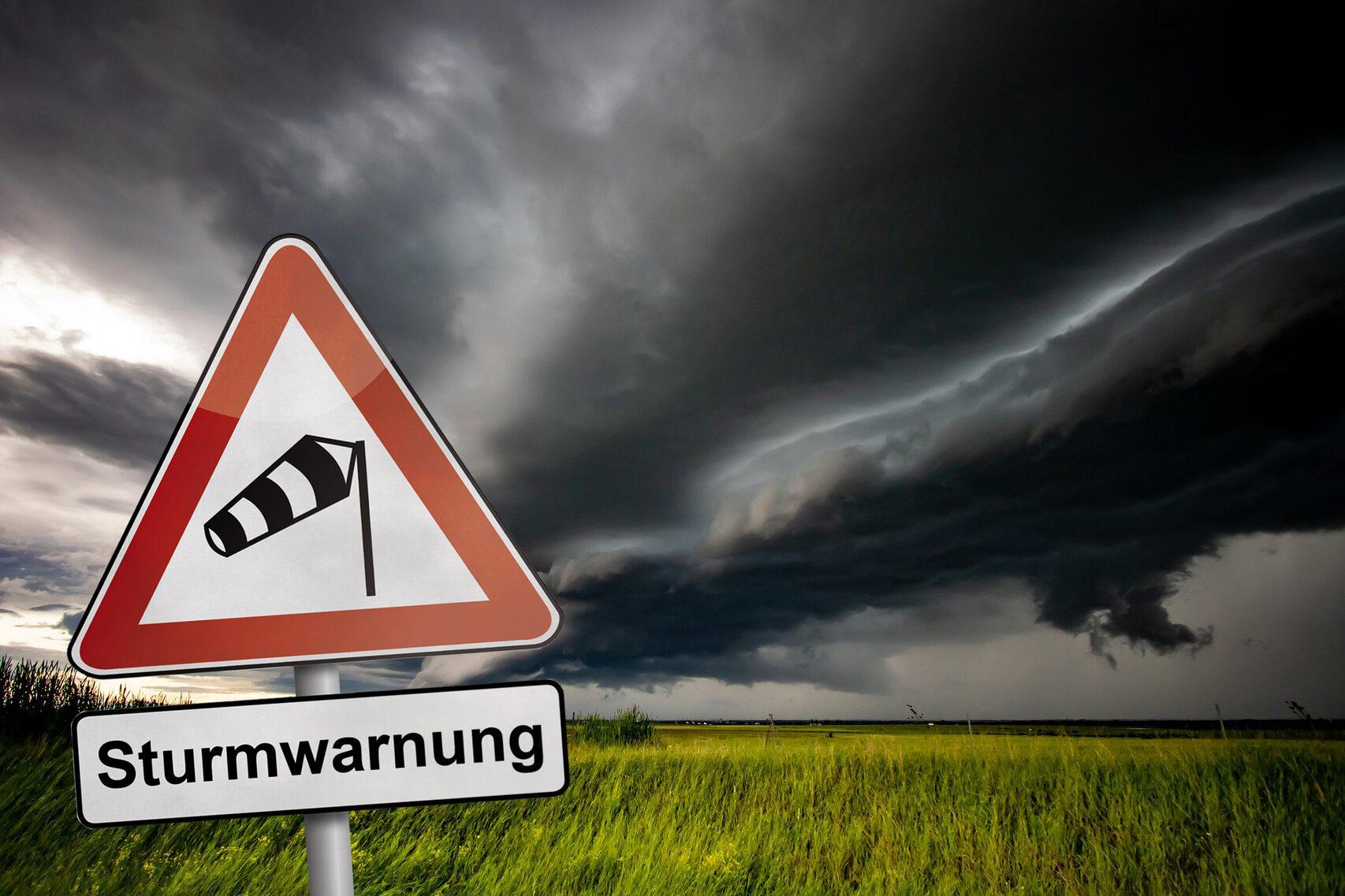 Sturmwarnung Für Morgen