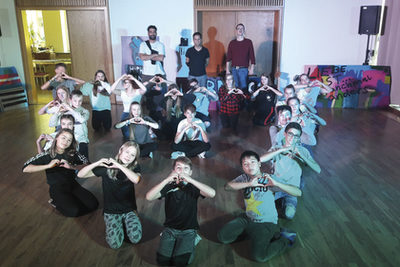 Hip-Hop-Camp - Streetdance-/Graffiti-/Rap-Workshops